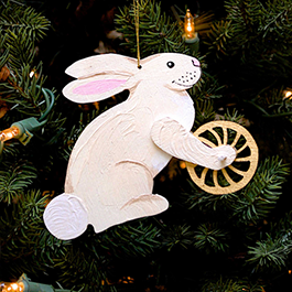 Bunny with Wheel